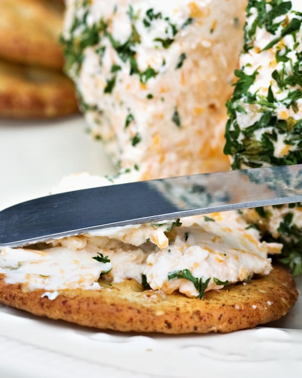 zesty mock shrimp cheese