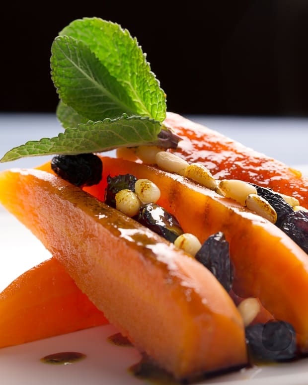 quick and easy carrot raisin and honey tzimmes