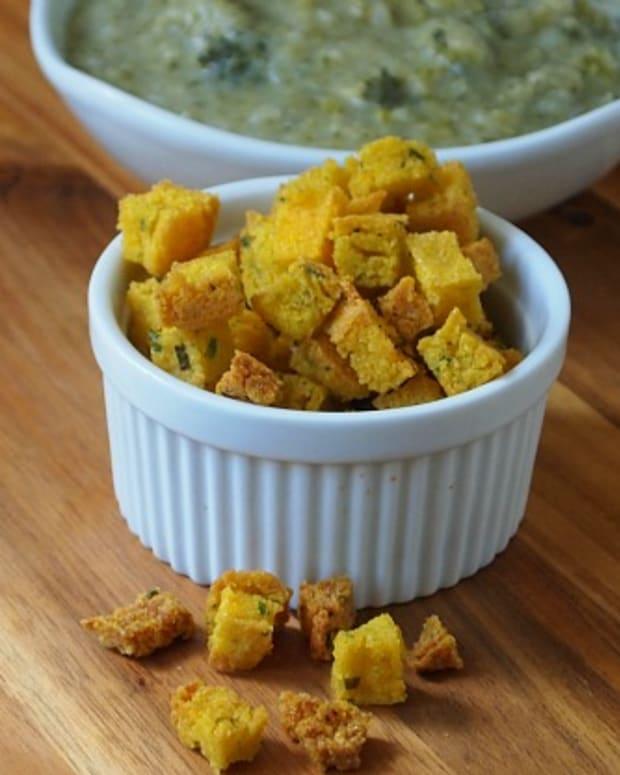 Herbed-Polenta-Croutons-joyofkosher