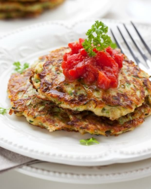 cheese stuffed latke