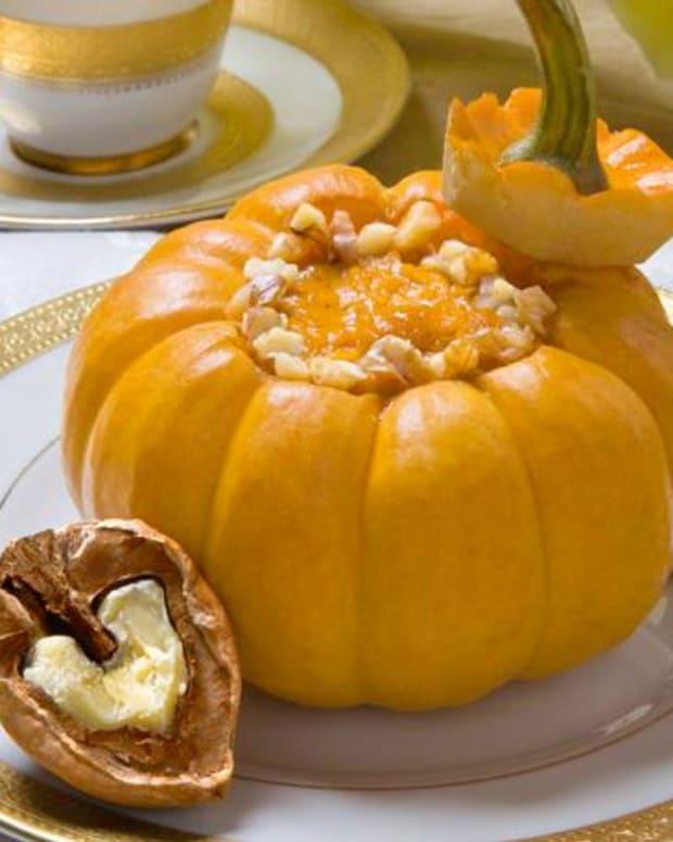Baked Pumpkin Custard