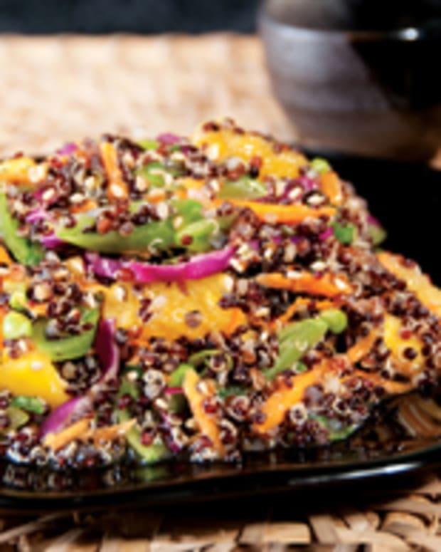 Black Quinoa Asian Slaw