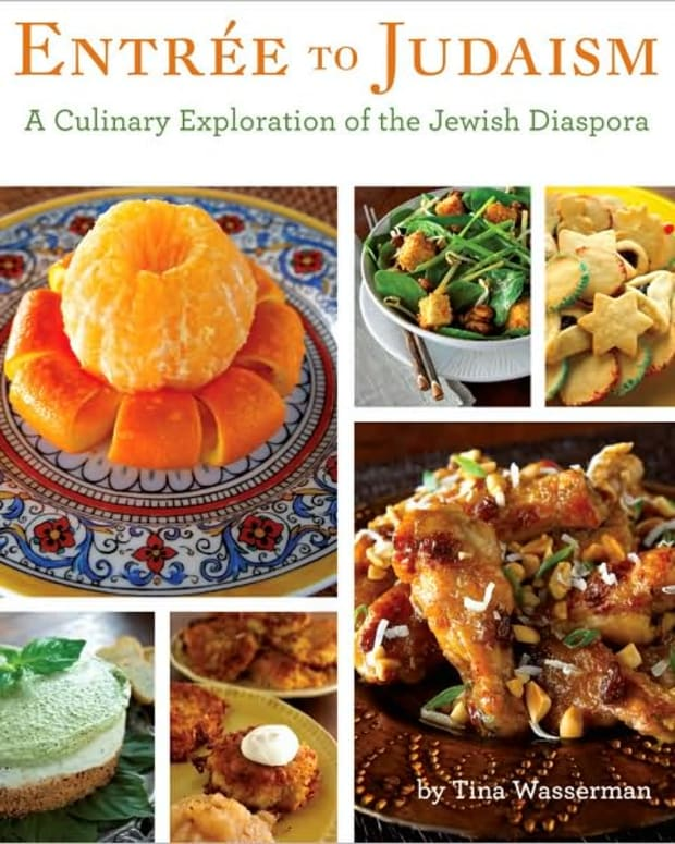 Tina Wasserman's Entree to Judaism