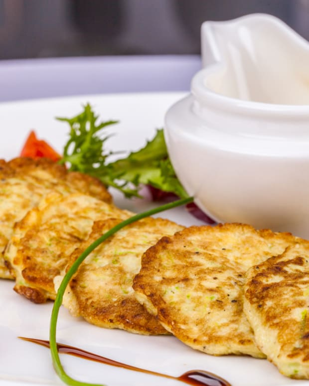potato zucchini pancakes