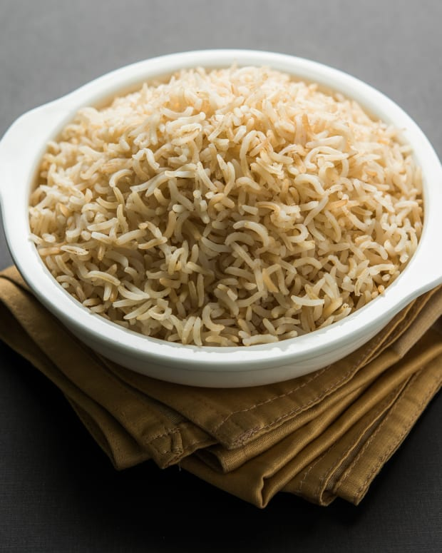 Oven Baked Perfect Brown Rice