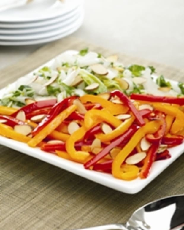 Power-Packed Vegetables with Roasted Almonds