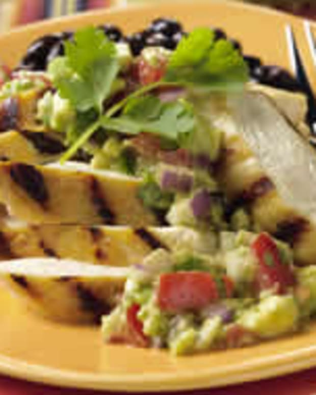 Grilled Lime Chicken with Avocado Salsa