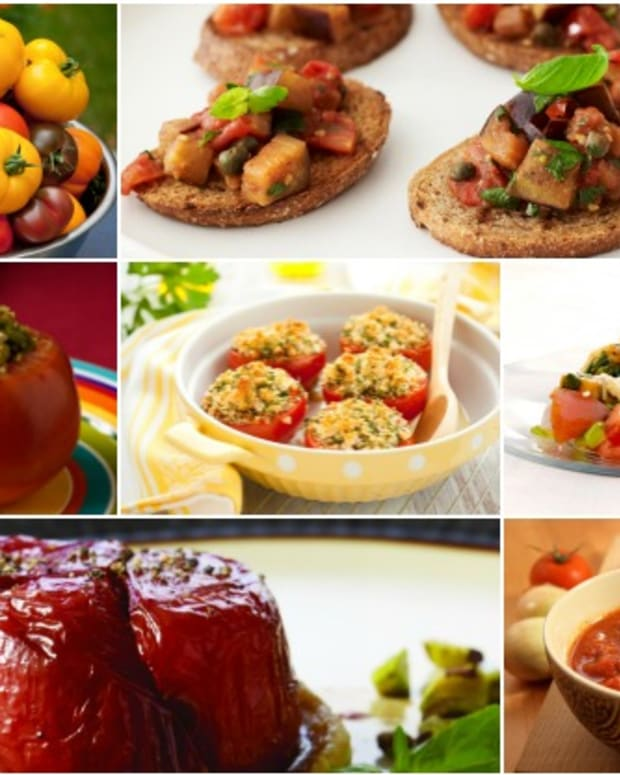 Ten Ways To Use Tomatoes