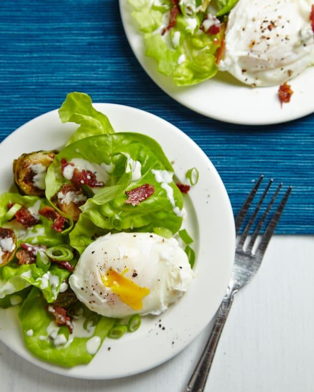 Poached Egg Salad