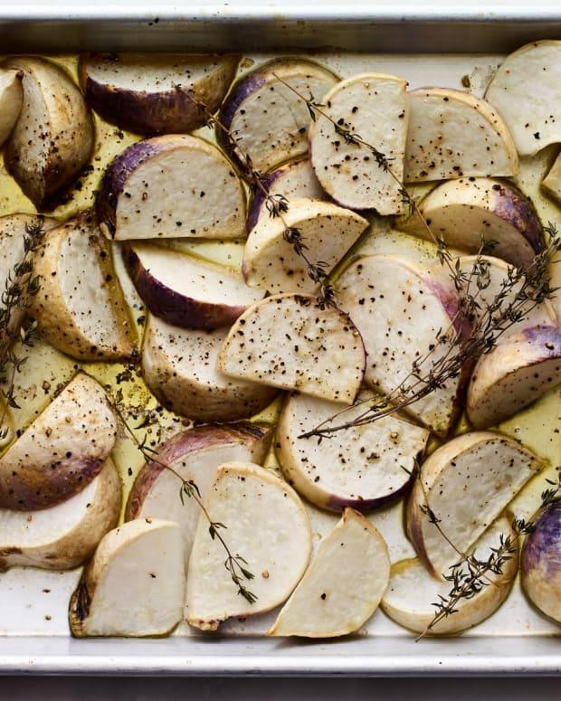 Honey Roasted Turnips