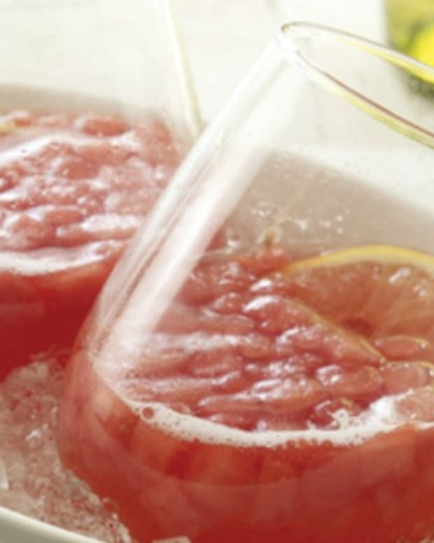 Watermelon Wine Spritzers
