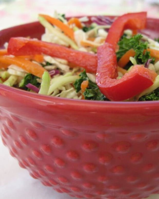 Revolutionary Healthy Asian Slaw