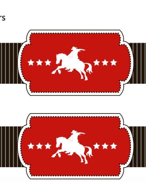 Cowboy Napkin Rings