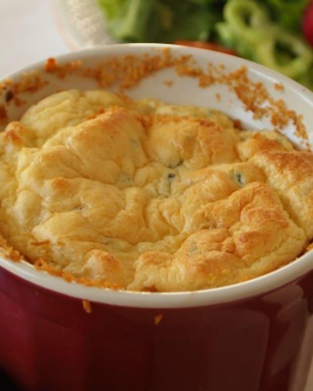 potato and cheese souffle