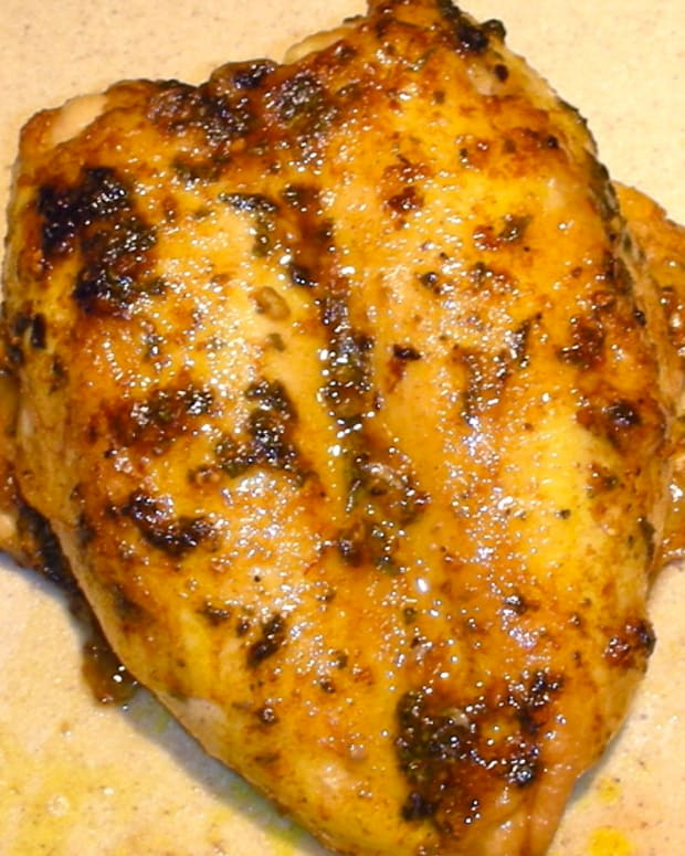 roasted moroccan spiced chicken breast