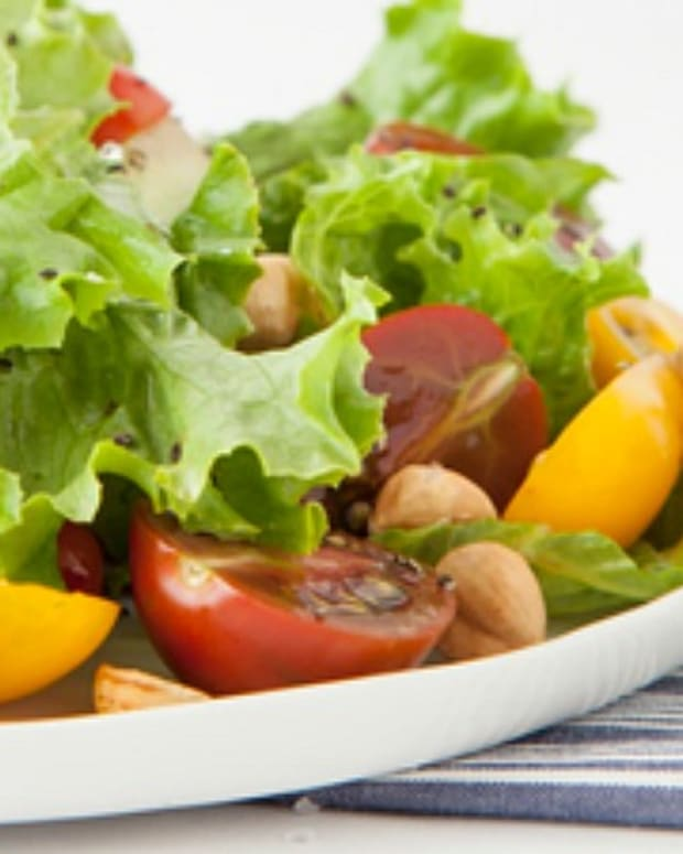 hazelnut salad