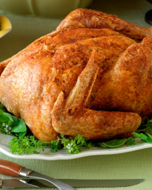 Asian Style Deep-Fried Turkey