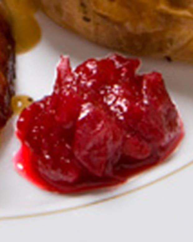 Guiltless Apricot Cranberry Sauce