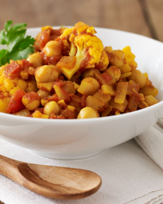 Curried Chick Pea Stew
