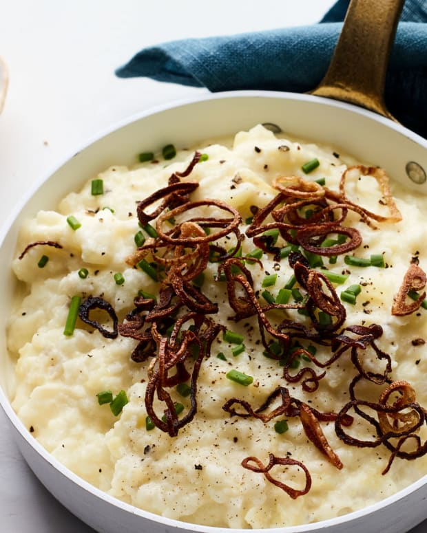 Creamy Mashed Turnips and Yukon Gold Potatoes