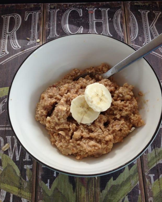 Banana Walnut oatmeal