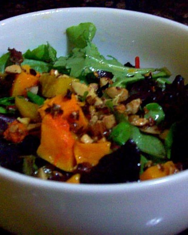 butternut sqaush salad1