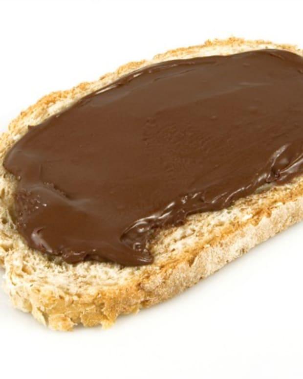 chocolate bread slice