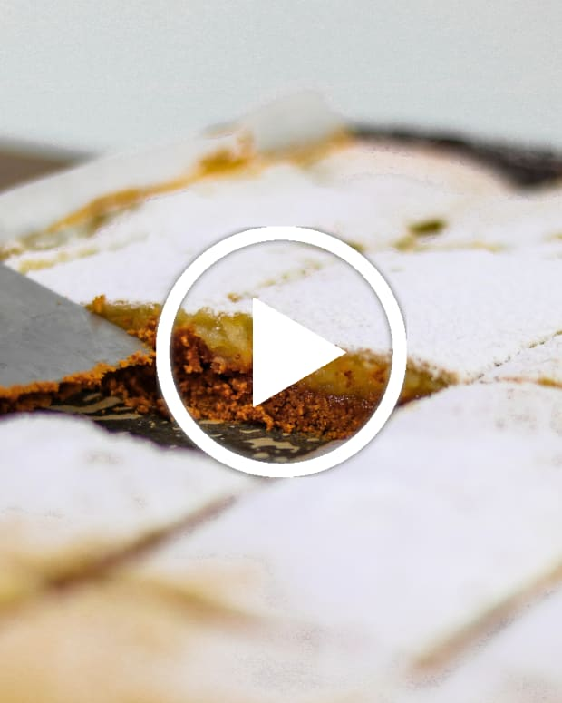 gluten free lemon bars video