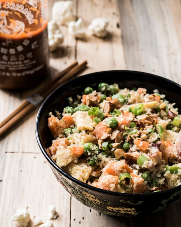 "Cauliflower Fried ""Rice"""