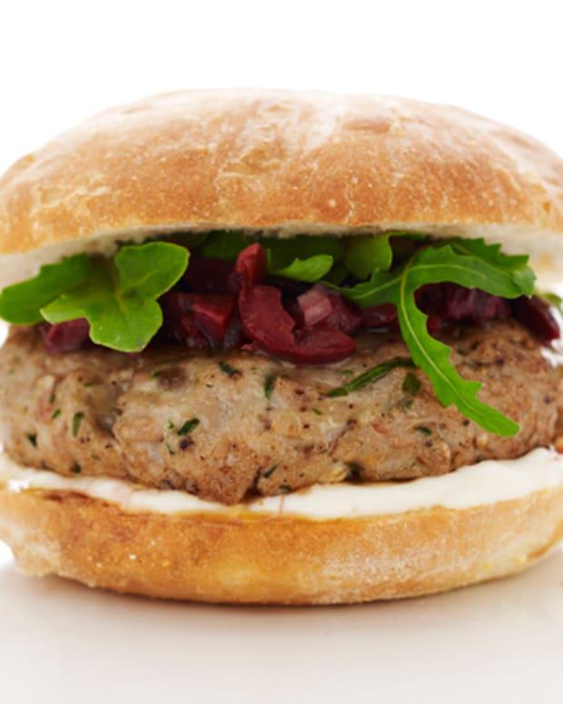 Mediterreanean Tuna Burger