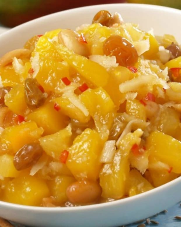 Chef Allen's Tropical Mango Chutney