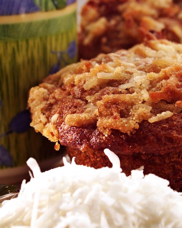 Apple Coconut Muffins