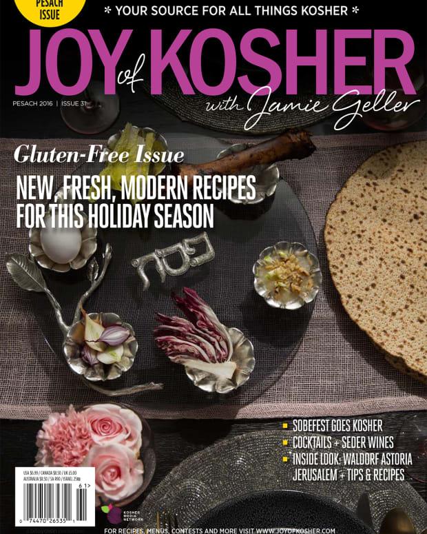 Pesach 2016 Joy of Kosher Magazine