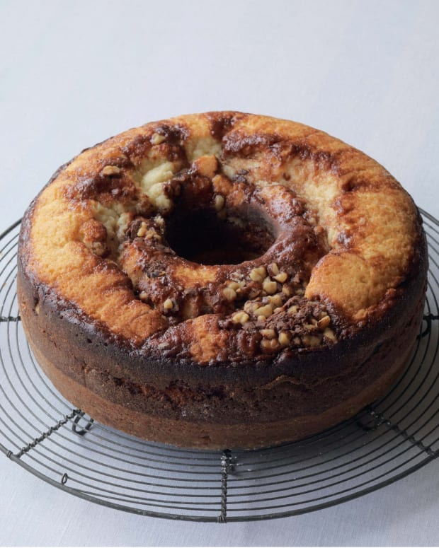 Mrs. Finkelstein's Marble Cake