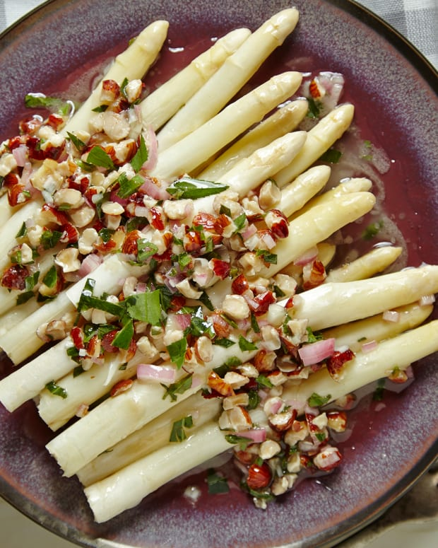 White Asparagus with Tarragon Dressing Pg. 54