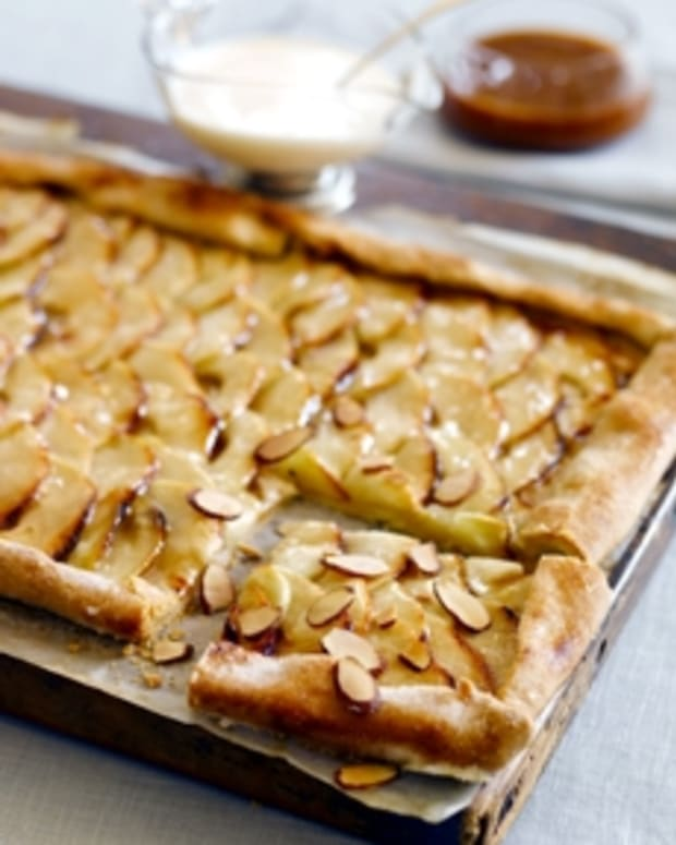 Apple-Almond Galette