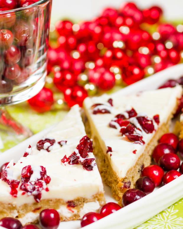 cranberry macadamia bars