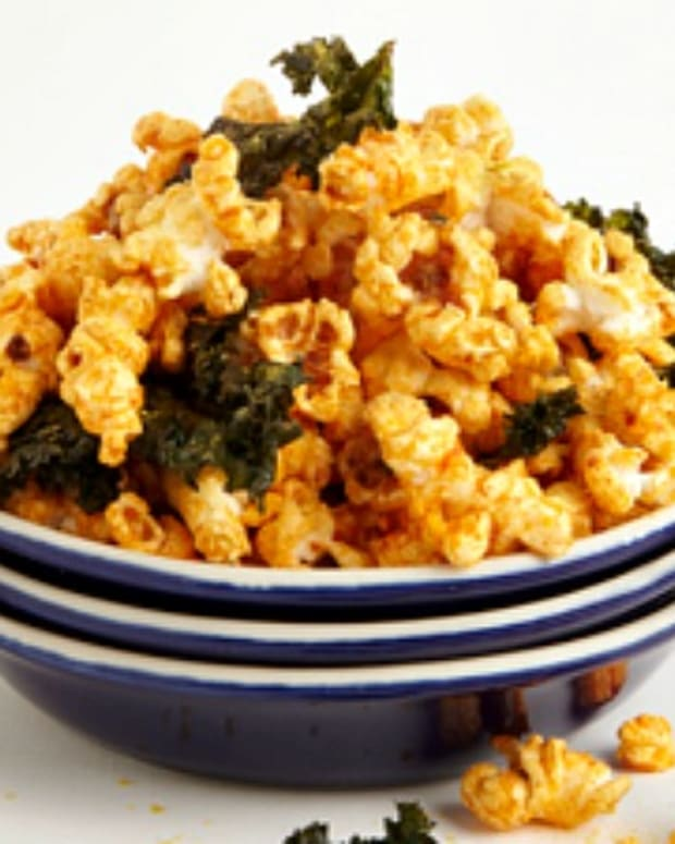 kale popcorn