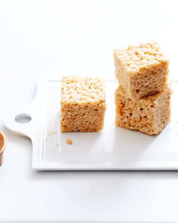 Brown Butter Maple Rice Krispies® Treats