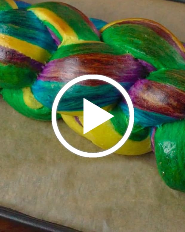 Rainbow Challah