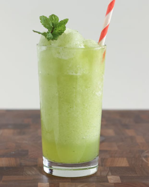 Frozen Slushy Limonana is filled with lemon and mint and the best icy treat