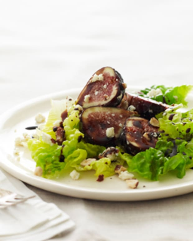 fig and blue cheese salad