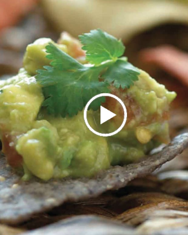 Guacamole and Chips Video