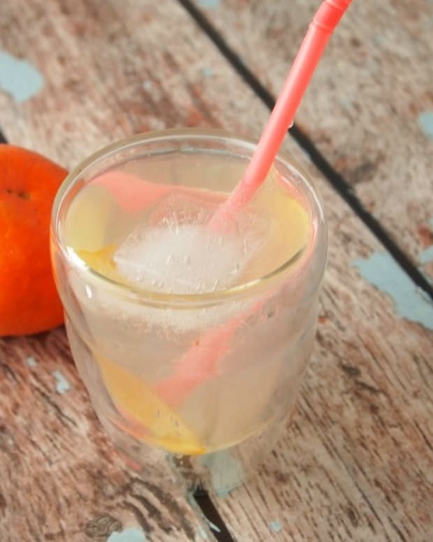 orange ginger drink