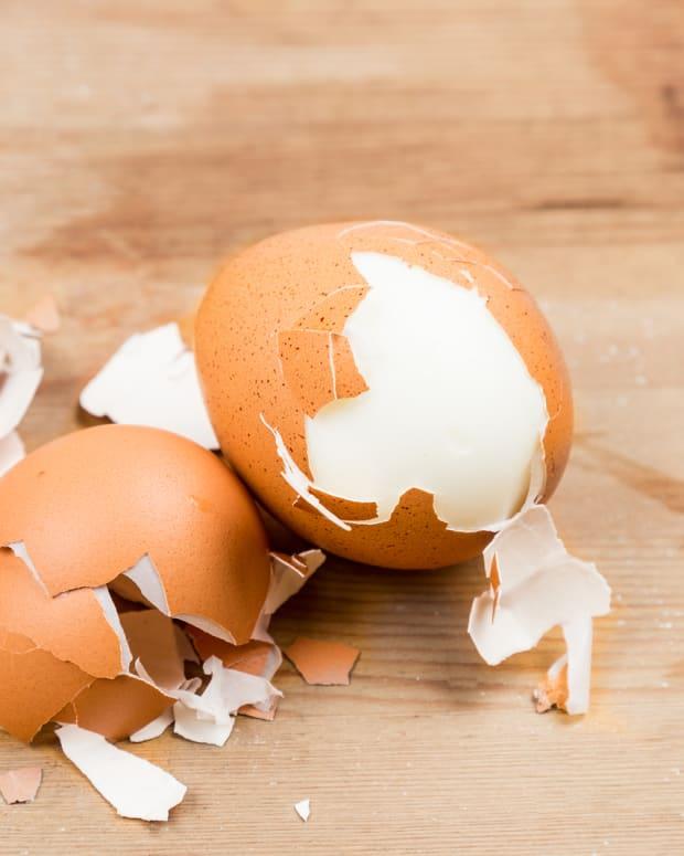 Cholent-egg salad