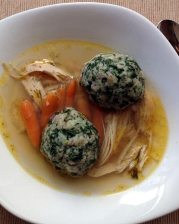 spinach matzo balls