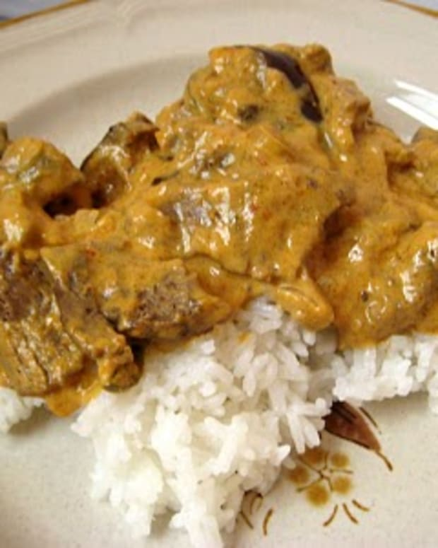 Curry Beef and Aromatic Rice