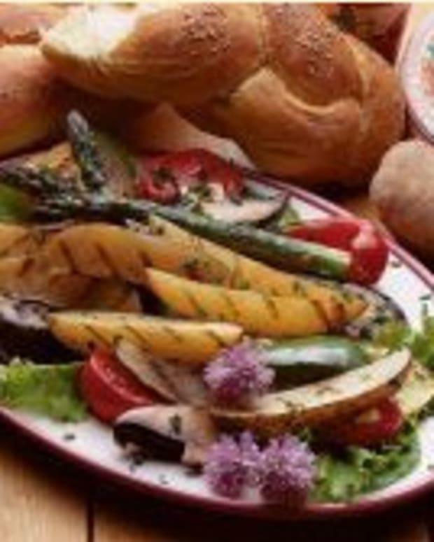 Grilled Idaho® Potato Ratatouille Salad,