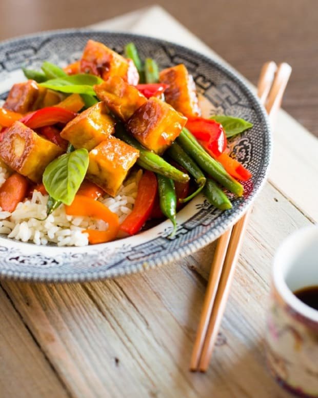 Spicy Sweet Tofu Stir Fry