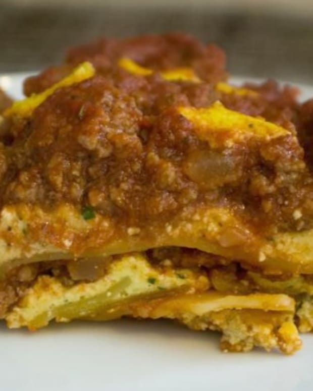 Kosher Meat Lasagna